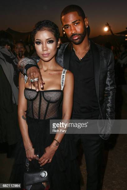 Jhene Aiko and Big Sean attend the Christian Dior Cruise 2018 Runway Show at the Upper Las Virgenes Canyon Open Space Preserve on May 11 2017 in...