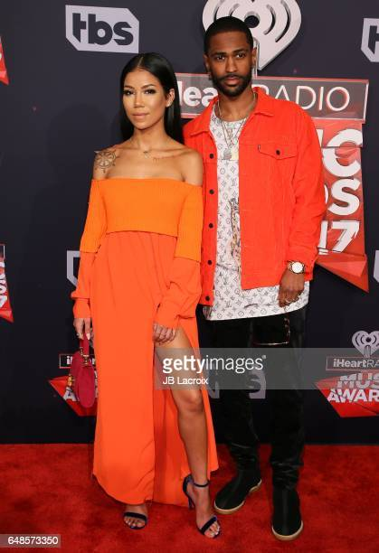 Jhene Aiko Big Sean attend the 2017 iHeartRadio Music Awards at The Forum on March 5 2017 in Inglewood California
