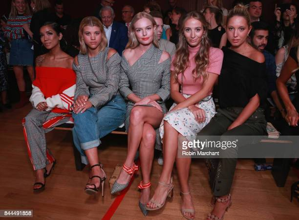Jhene Aiko Sophia Richie Kate Bosworth Harley VieraNewton and Princess Olympia of Greece attend the Monse fashion show during New York Fashion Week...