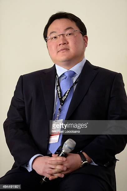 Jho Low CEO Jynwel Captial Limited and CoDirector Jynwel Charitable Foundation Limited speaks onstage during The New York Times Health For Tomorrow...