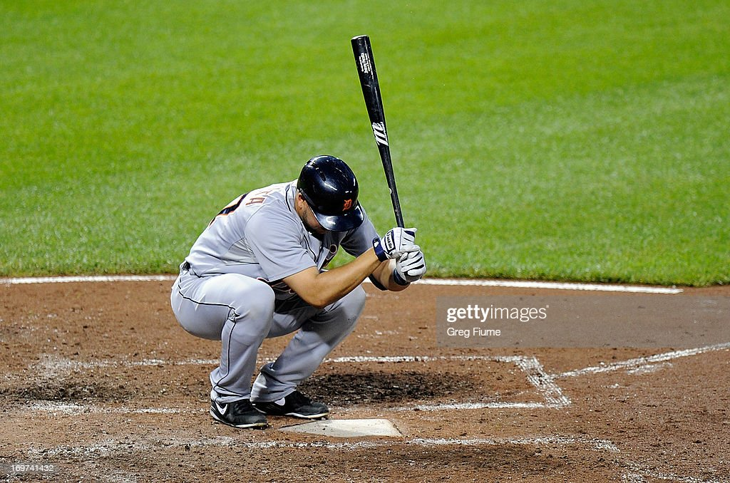 <a gi-track='captionPersonalityLinkClicked' href=/galleries/search?phrase=Jhonny+Peralta&family=editorial&specificpeople=213286 ng-click='$event.stopPropagation()'>Jhonny Peralta</a> #27 of the Detroit Tigers reacts after striking out to end the fifth inning against the Baltimore Orioles at Oriole Park at Camden Yards on May 31, 2013 in Baltimore, Maryland.