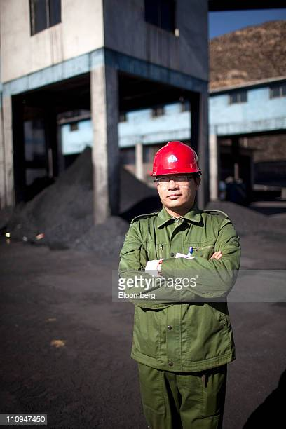 Ji Baorong manager of a coal washing facility poses for a portrait in Shanxi Province China on Thursday March 24 2011 China is the largest producer...