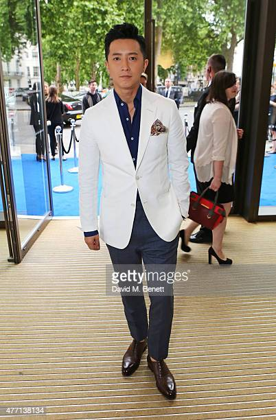 Ji Chang Wook attends the dunhill and GQ style presentation to celebrate LCM SS16 at Phillips Gallery on June 14 2015 in London England