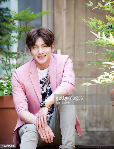 Ji ChangWook poses for photographs on May 14 2014 in Seoul South Korea