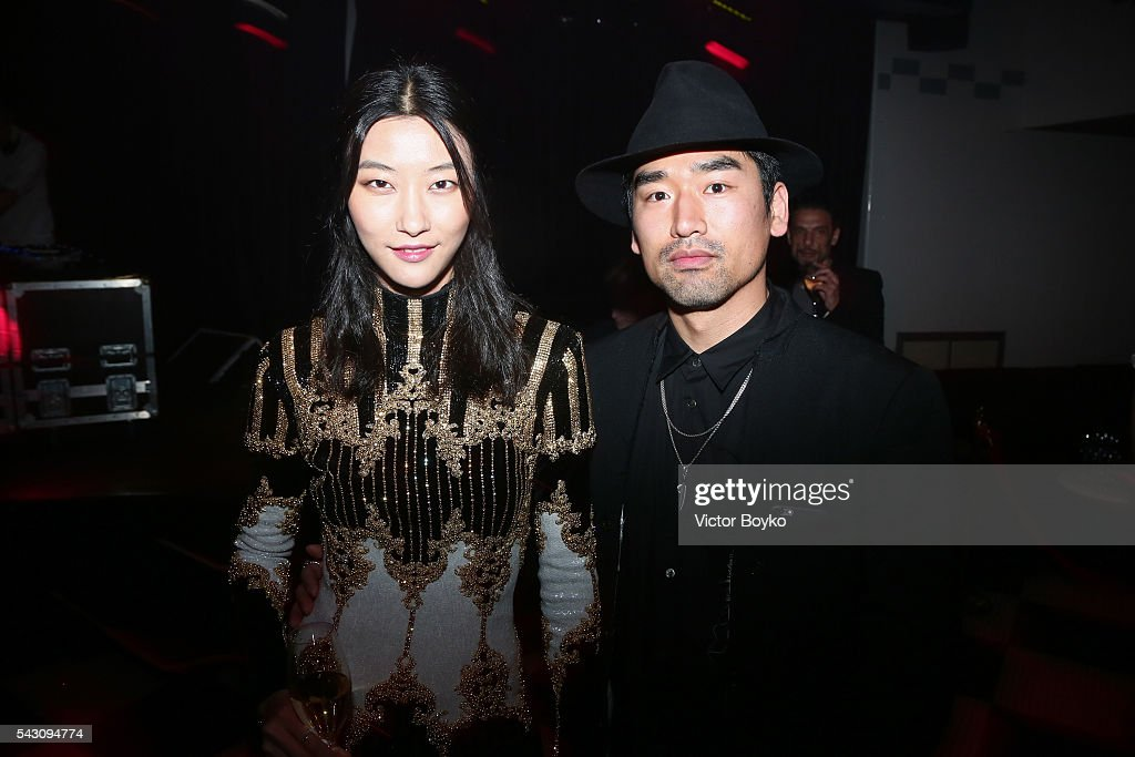 <a gi-track='captionPersonalityLinkClicked' href=/galleries/search?phrase=Ji+Hye+Park&family=editorial&specificpeople=10148511 ng-click='$event.stopPropagation()'>Ji Hye Park</a> and guest attend the Balmain Menswear Spring/Summer 2017 after party as part of Paris Fashion Week at Les Bains on June 25, 2016 in Paris, France.