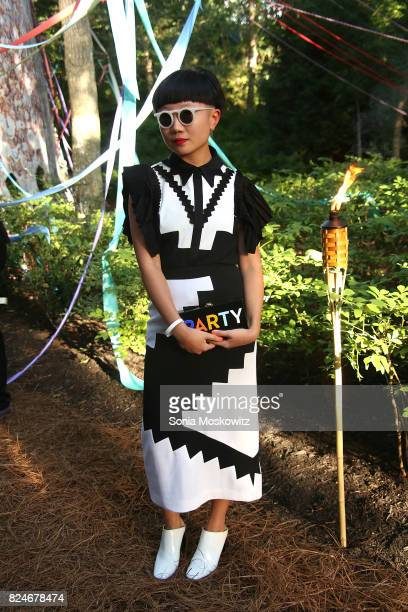 Jia Jia Fei attends the 24th Annual Watermill Center Summer Benefit and Auction at The Watermill Center on July 29 2017 in Water Mill New York