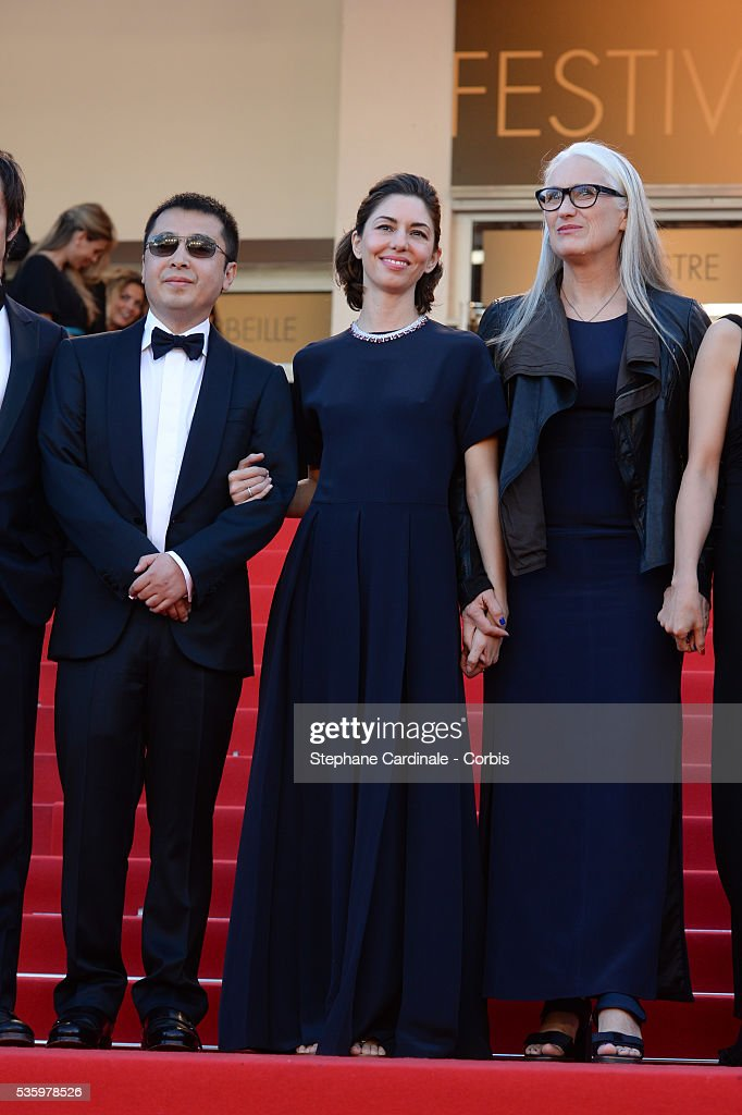 Jia Zhangke, Sofia Coppola, Jane Campion at the Closing ceremony and 'A Fistful of Dollars' screening during 67th Cannes Film Festival