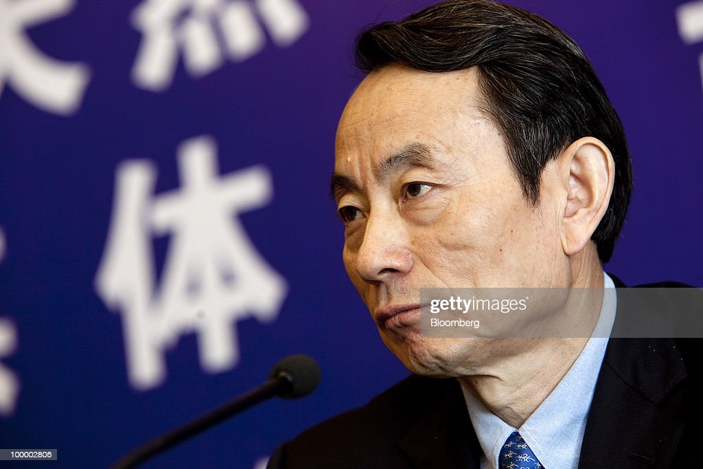 Jiang Jiemin, chairman of China National Petroleum Corp. (PetroChina), listens to a question during a news conference in Beijing, China, on Thursday, May 20, 2010. PetroChina plans to conduct business in Iran at a 'normal pace,' Jiang said today. Photographer: Nelson Ching/Bloomberg via Getty Images