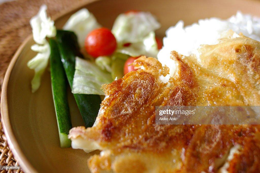 jiao-zi lunch : Stock Photo