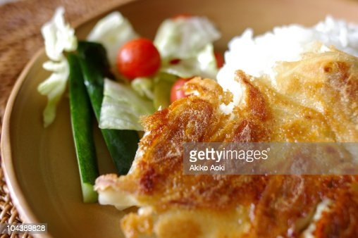 jiao-zi lunch : Stock Photo