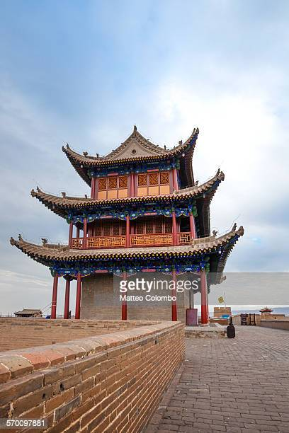 Jiayuguan Gate, on the Great Wall of China