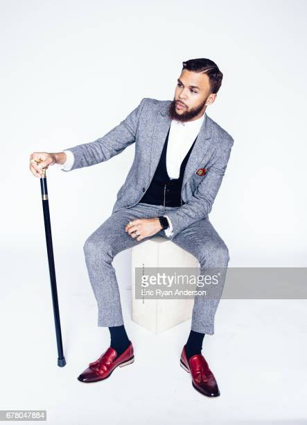 Jidenna is photographed for Billboard Magazine on December 12 2015 in Brooklyn New York