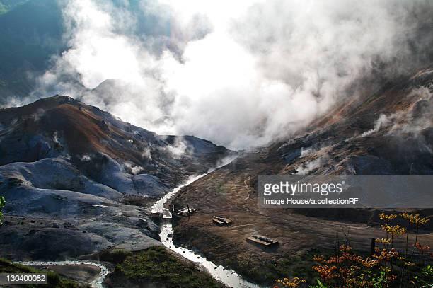 Jigokudani or Hell Valley, Hokkaido Prefecture, Japan