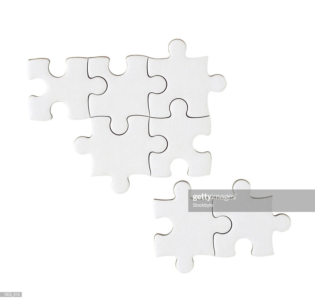 Jigsaw puzzle pieces : Stock Photo