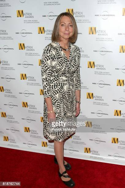 Jill Abramson attends New York WOMEN IN COMMUNICATIONS Presents The 2010 MATRIX AWARDS at Waldorf Astoria on April 19 2010 in New York City