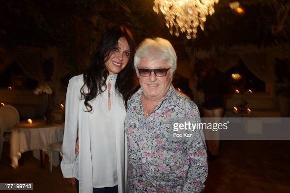 Jill Cerrone and Marc Cerrone attend the Massimo Gargia's Birthday Dinner at Moulins de Ramatuelle on August 21 2013 in Saint Tropez France
