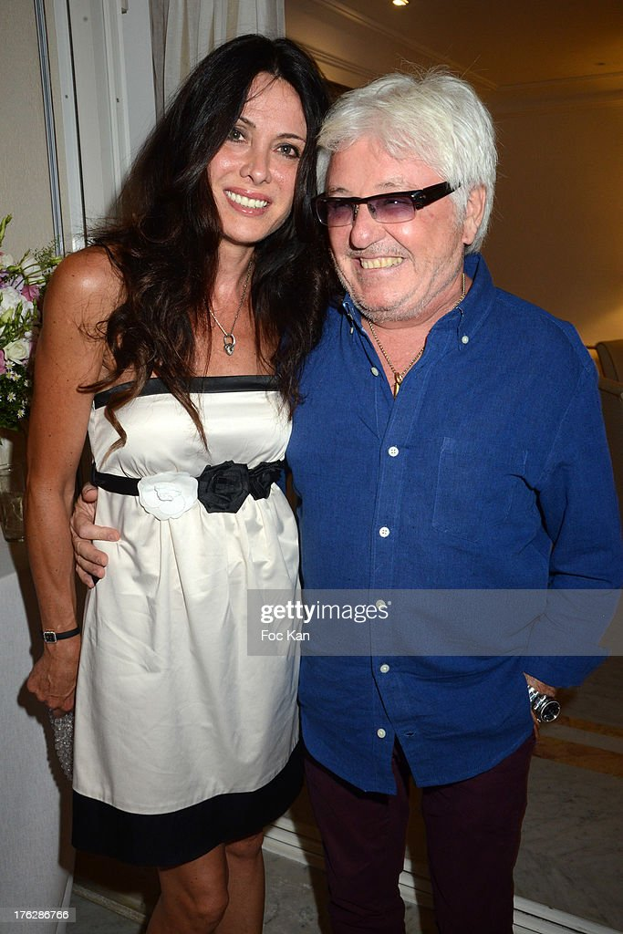 Jill Cerrone and Marc Cerrone attend the Massimo Gargia's Party hosted by Richard Roizen at Villa Les Acanthes In Saint-Tropez on August 11, 2013 in Saint Tropez, France.