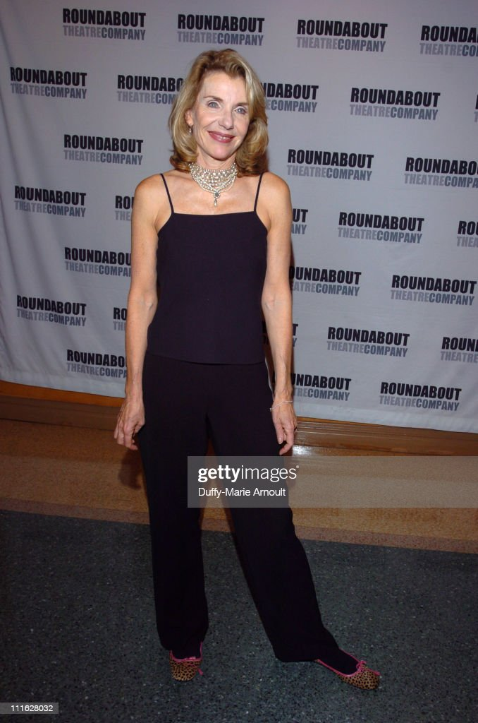 Jill Clayburgh during 'A Naked Girl on the Appian Way' Broadway Opening Night - Arrivals and After Party at American Airlines Theatre in New York City, New York, United States.