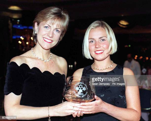 Jill Dando presents Lisa Potts of Wolverhampton attacked by a machetewielding intruder at St Luke's Church of England Infants School with the...