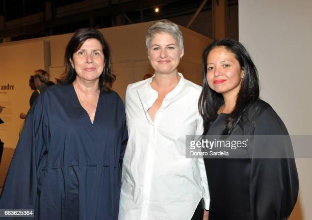 Jill Davis and Sylvia Chivaratanond attend MOCA's Leadership Circle and Members' Opening of 'Carl Andre Sculpture as Place 19582010' and 'Arthur Jafa...