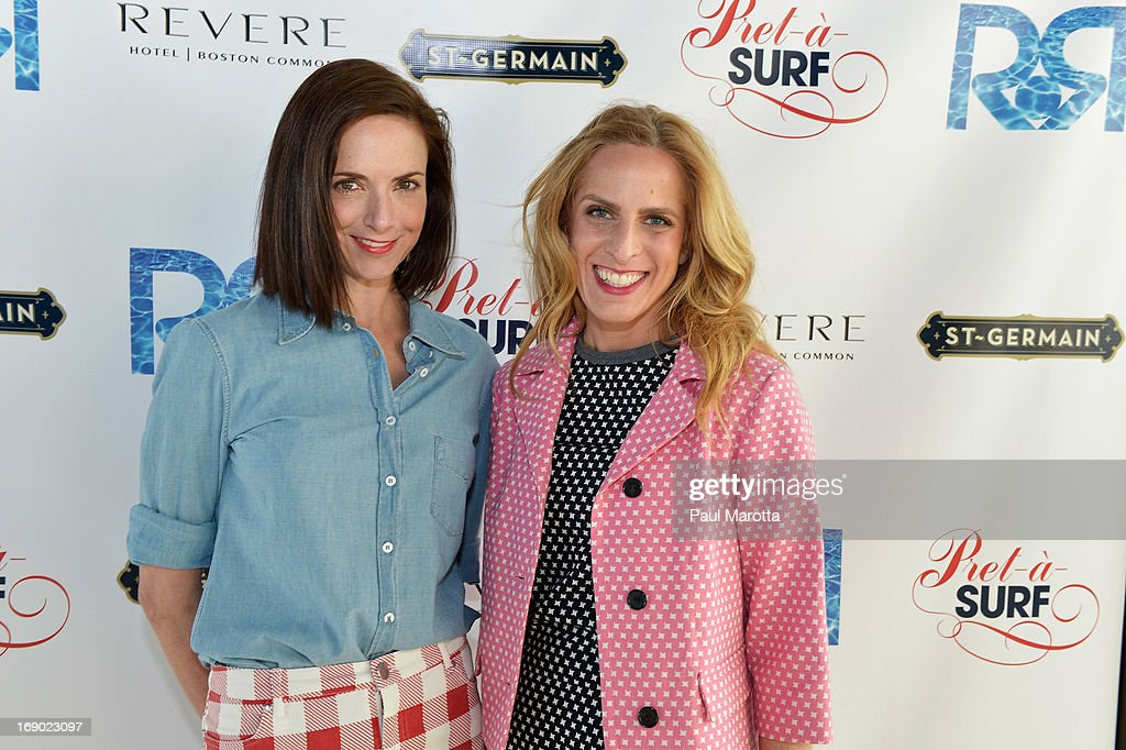 Jill Demling and Karen Mulligan attend Rooftop @ Revere Launch Party at The Revere Hotel on May 18, 2013 in Boston, Massachusetts.