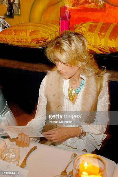 Jill Fairchild attends An Intimate Evening of Food Fashion and Gossip with the Inimitable Jackie Rogers at Jour et Nuit on March 26 2007 in New York...