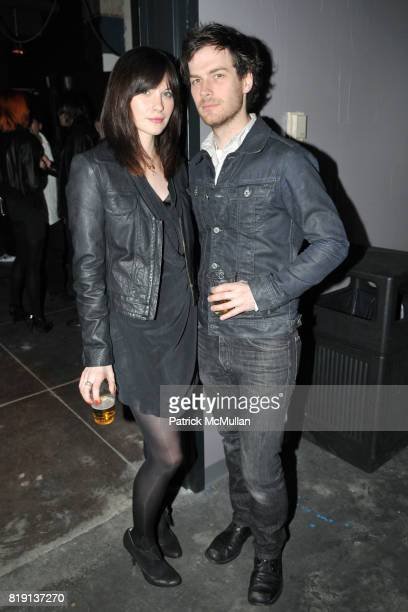 Jill Flint and Drew Conrad attend THE RUNAWAYS A Gallery Event with FLORIA SIGISMONDI to Benefit STAND UP FOR KIDS at Good Units on March 16 2010 in...