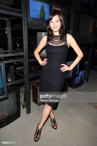 Jill Flint attends QVC celebrates the launch of Isaac Mizrahi Live in NYC at Studio 37 November 4 2009 in New York City
