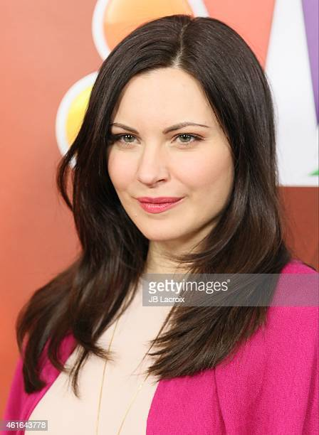Jill Flint attends the NBCUniversal 2015 Press Tour at the Langham Huntington Hotel on January 16 2015 in Pasadena California