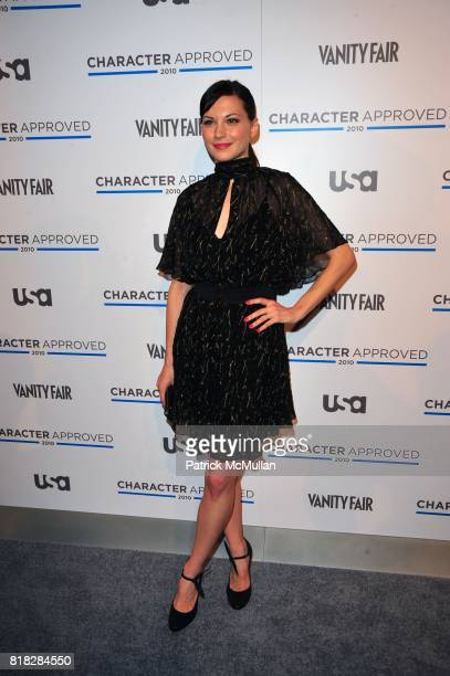 Jill Flint attends USA NETWORK and VANITY FAIR celebrate Character Approved 2010 Honorees at IAC Building on February 25 2010 in New York City