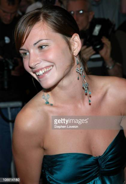 Jill Flint during 'Garden State' New York Premiere Outside Arrivals at Chelsea Clearview Cinemas in New York City New York United States