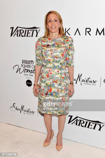 Jill Furman attends Variety's Power of Women New York at Cipriani Midtown on April 21 2017 in New York City