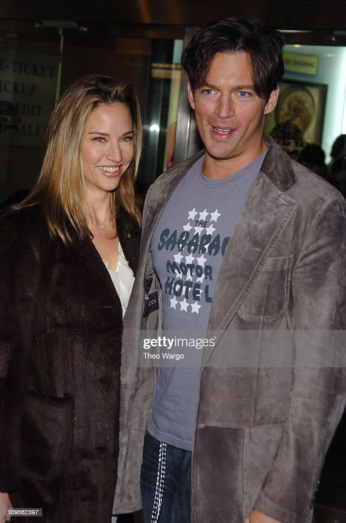 Jill Goodacre and Harry Connick Jr. during 'Fat Actress' Showtime Network's New York City Premiere - Inside Arrivals at Clearview Chelsea West Cinemas in New York City, New York, United States.