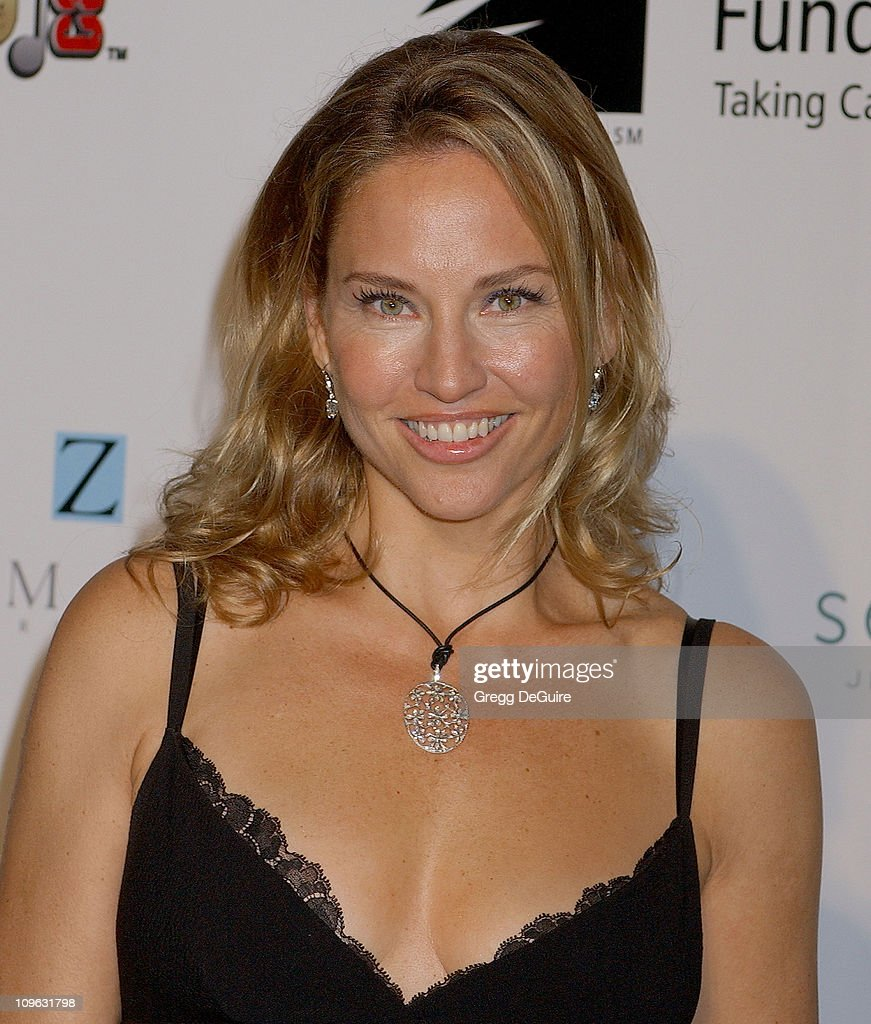 jill goodacre during a fine romance gala benefiting the