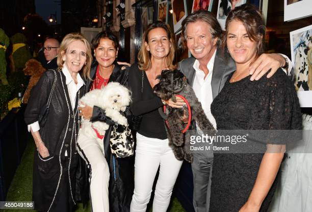 Jill Grant Rosann Benett Cindy Lass Richard Caring and Tracey Emin attend Dogs Trust at George on September 9 2014 in London England