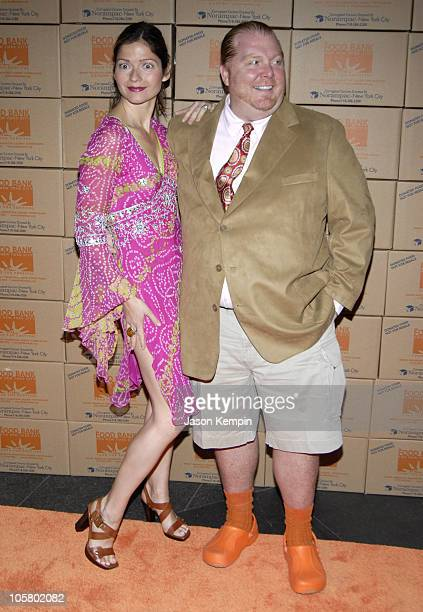 Jill Hennessy and Mario Batali during 2006 Food Bank For New York Citys Annual Can Do Awards Gala at Pier Sixty Chelsea Piers in New York City New...