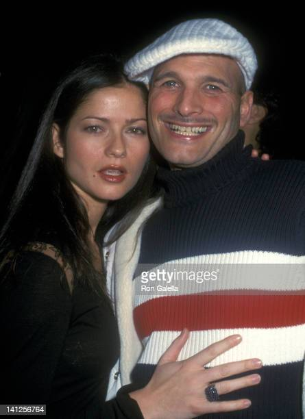 Jill Hennessy and Phillip Bloch at the 2002 Fall Fashion Week Tommy Hilfiger Fashion Show Bryant Park New York City