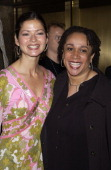 Jill Hennessy and S Epatha Merkerson during NBC Introduces Five New Series as Part of NBC's 200203 Schedule at Radio City Music Hall in New York City...