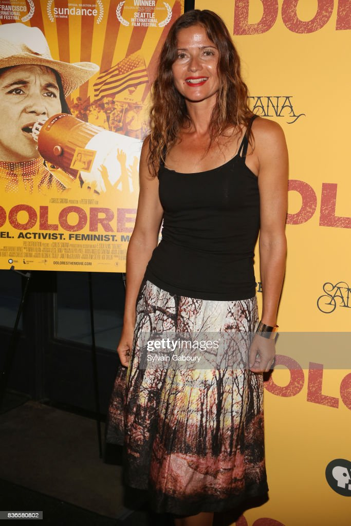 Jill Hennessy attends 'Dolores' New York Premiere at Metrograph on August 21, 2017 in New York City.