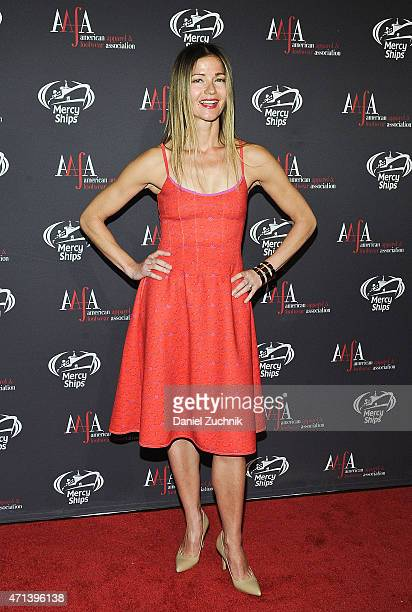 Jill Hennessy attends the AAFA American Image Awards at 583 Park Avenue on April 27 2015 in New York City