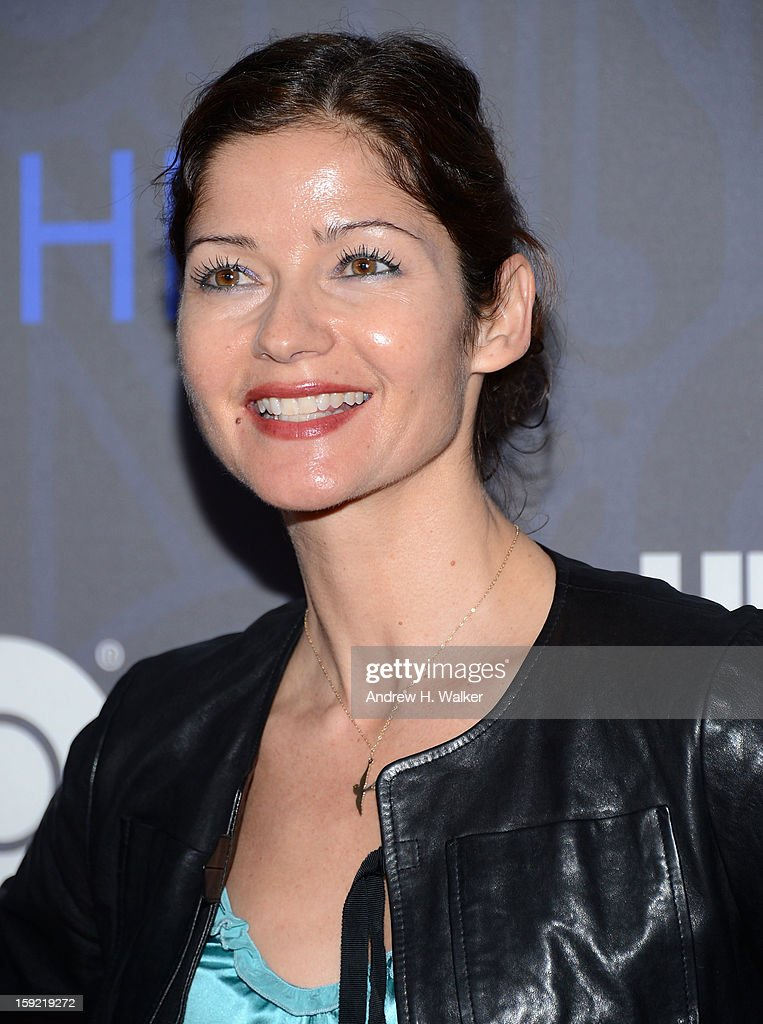 Jill Hennessy attends the premiere of 'Girls' season 2 hosted by HBO at NYU Skirball Center on January 9, 2013 in New York City.