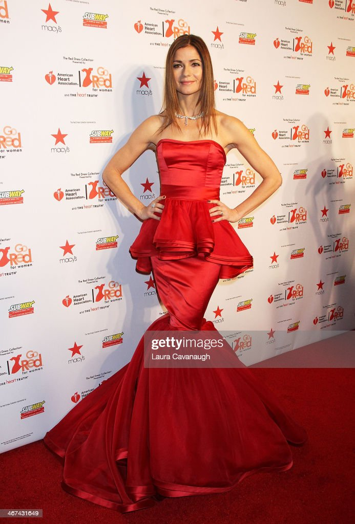 <a gi-track='captionPersonalityLinkClicked' href=/galleries/search?phrase=Jill+Hennessy&family=editorial&specificpeople=210636 ng-click='$event.stopPropagation()'>Jill Hennessy</a> attends The Red Dress Fashion Show during Fall 2014 Mercedes - Benz Fashion week on February 6, 2014 in New York City.