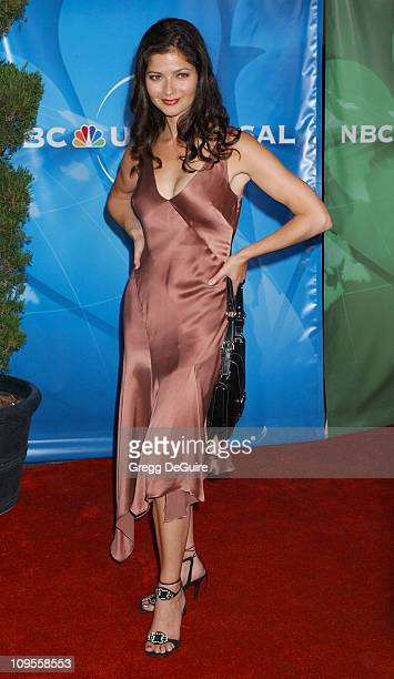 Jill Hennessy during 2004 NBC All Star Party Arrivals at Universal Studios in Universal City California United States