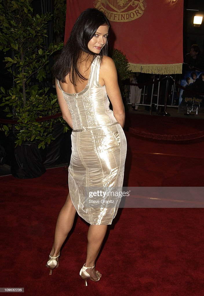Jill Hennessy during 'Harry Potter and the Chamber of Secrets' Premiere Los Angeles Arrivals at Mann Village Theatre in Westwood California United...