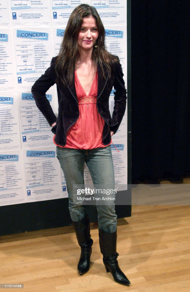 Jill Hennessy during inConcert to Benefit Project Angel Food Arrivals November 12 2005 at The Howard Fine Theater in Hollywood California United...