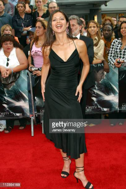 Jill Hennessy during 'Minority Report' New York City Premiere at Ziegfeld Theater in New York City New York United States