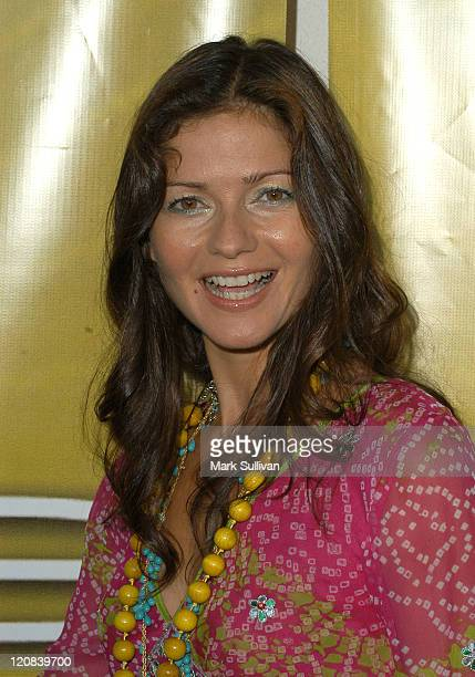 Jill Hennessy during NBC Cocktail Party for 'Las Vegas' at TCA Arrivals at Beverly Hilton Hotel in Beverly Hills California United States