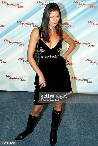 Jill Hennessy during Special Screening of MGM's 'Die Another Day' at The Shrine Auditorium in Hollywood CA United States
