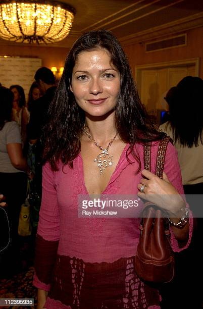 Jill Hennessy during The HBO Luxury Lounge at the 56 Annual Emmy Awards at The Peninsula Hotel in Beverly Hills California United States