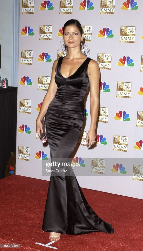 Jill Hennessy presenter at the 54th Annual Emmy Awards